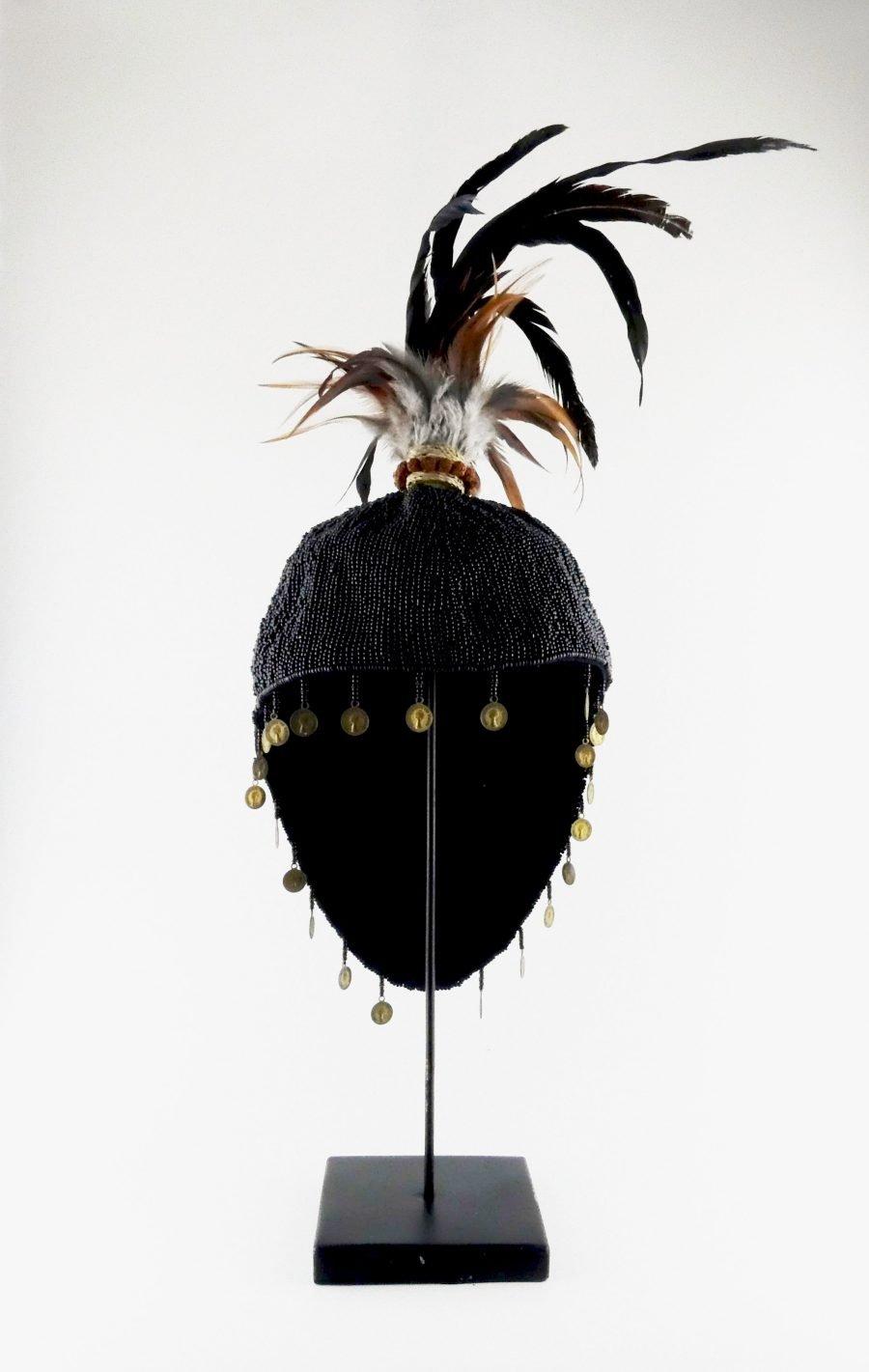 Papua hoed zwart