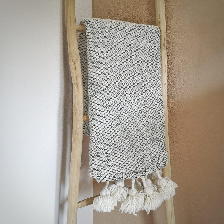 Pompom kleed handira marokko patroon