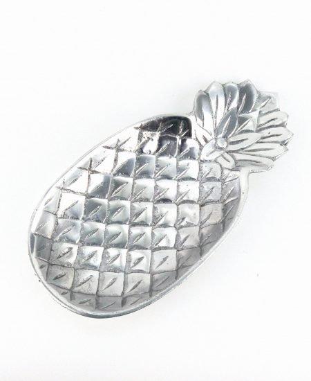 Schaaltje ananas zilver