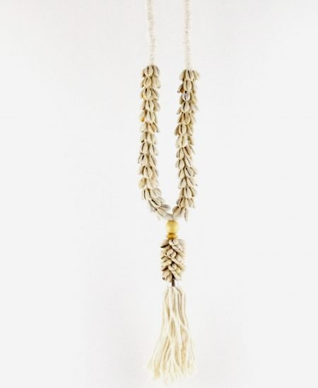 Schelpenketting hanger fringes