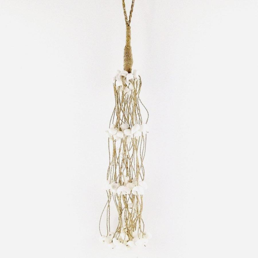 Schelpenketting lange hanger