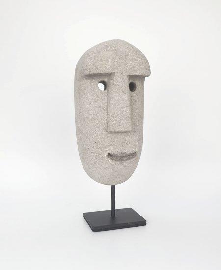 Stone man Maoui grijs