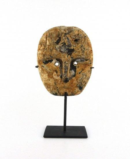 Sumba houten masker op standaard