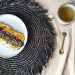 Placemat bali raffia zwart