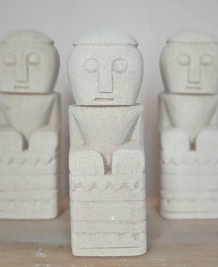 Sumba stone men Leny