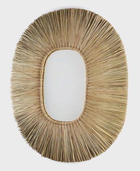 Raffia spiegel bali