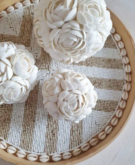 Schelpenbol Bali rose