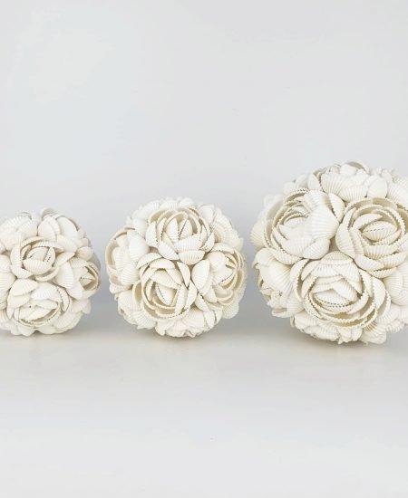 Schelpenbol rose bali set