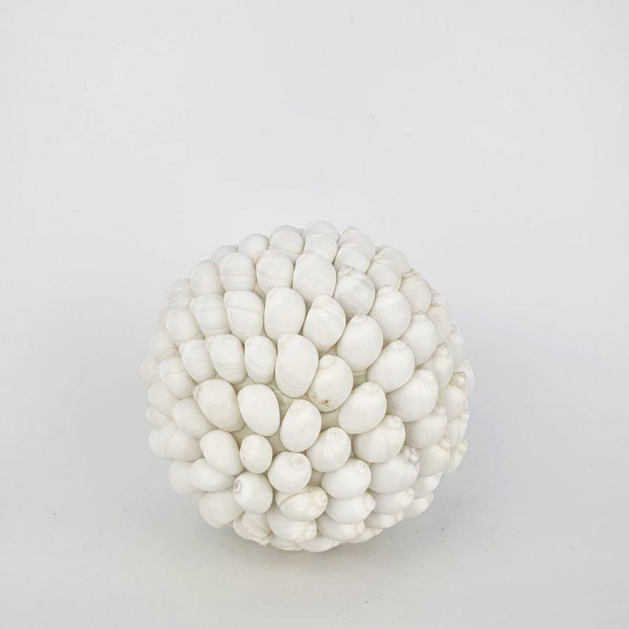 Schelpenbol wit large bali