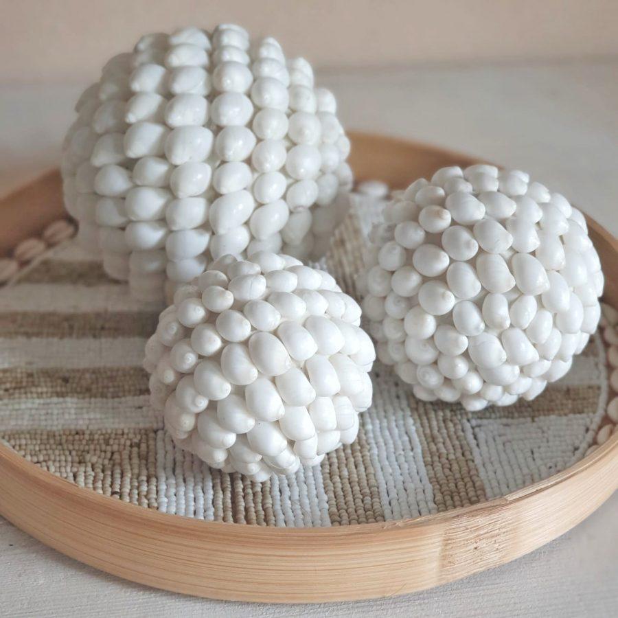Schelpenbollen bali schelpen accessoires 1