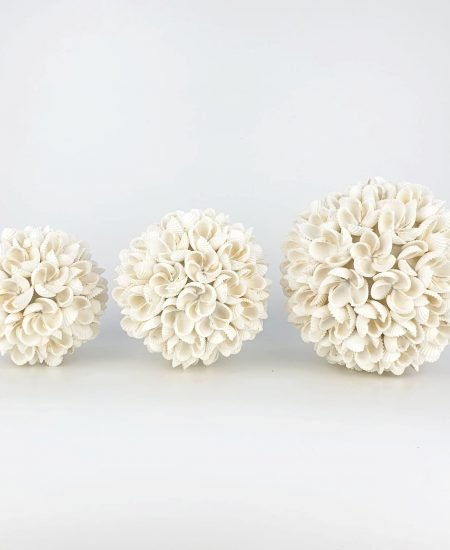 Schelpenbollen bloem bali set