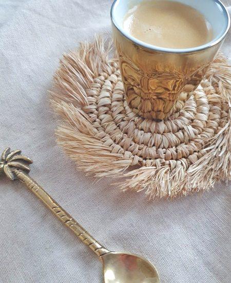 Onderzetter raffia bali