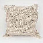 Pillow Talk Macramé Kauri - kussen schelpen bali