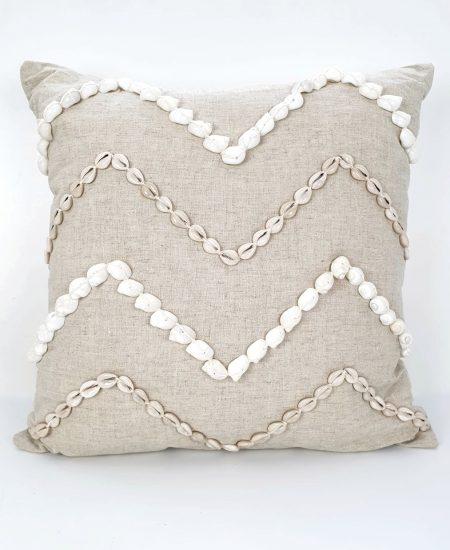 Pillow Talk patern - kussen schelpen bali