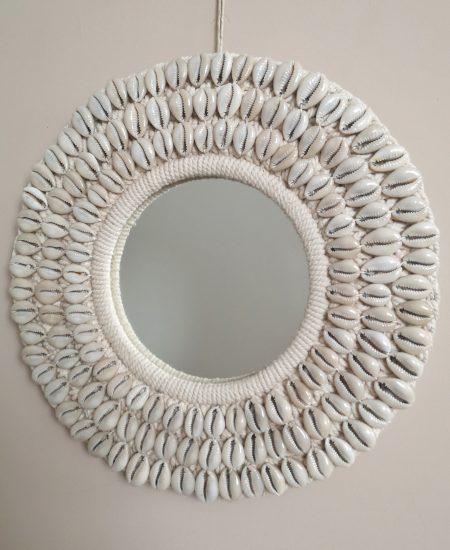 Schelpen spiegel bali kauri 1