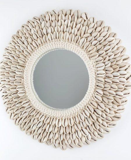 Schelpen spiegel kauri bali