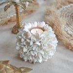 Schelpenbol waxine licht houder bali