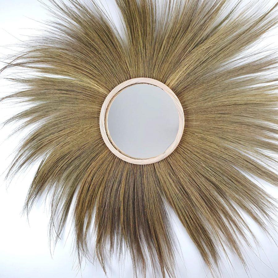The Lion Mirror spiegel bali zeegras