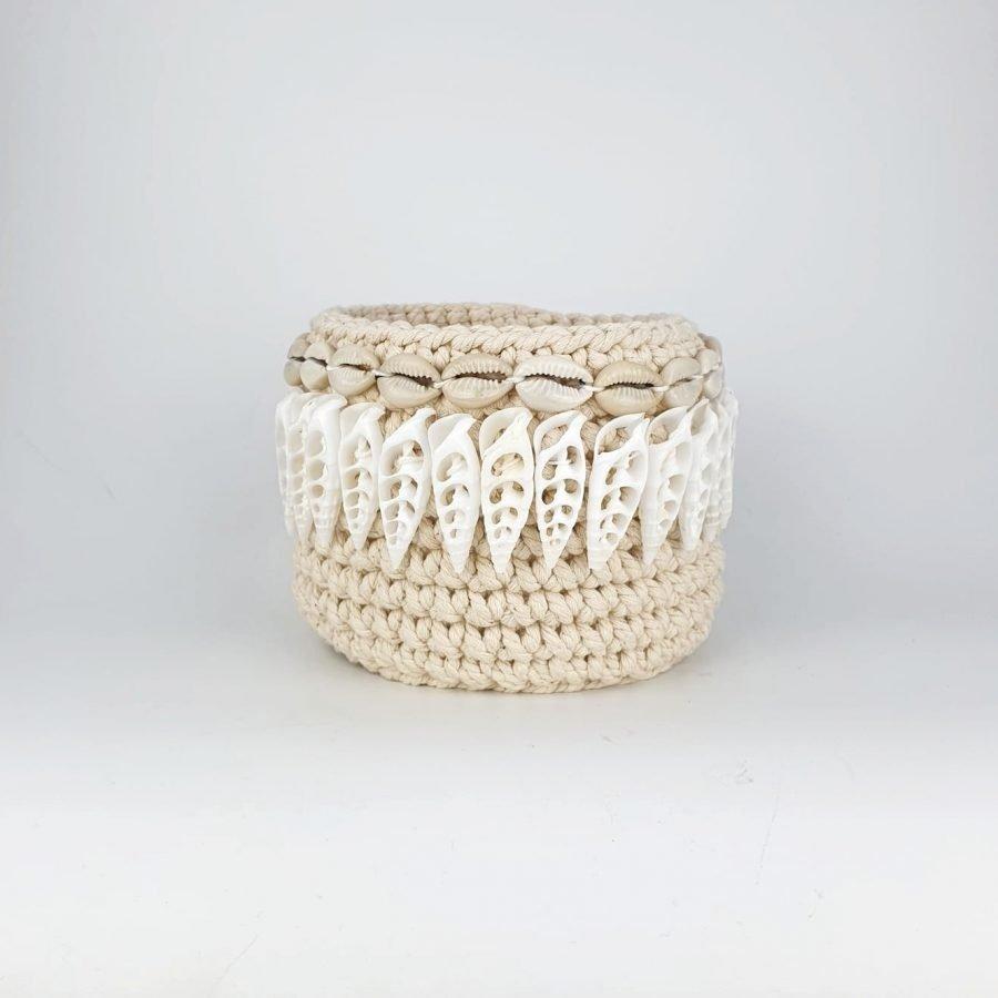 The shell basket pointy schelpenmandje