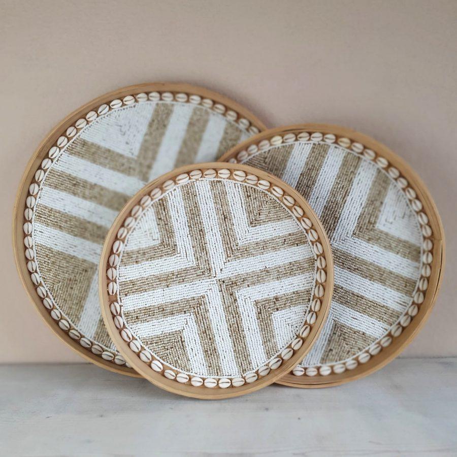 Dienblad kraaltjes bali decoratie