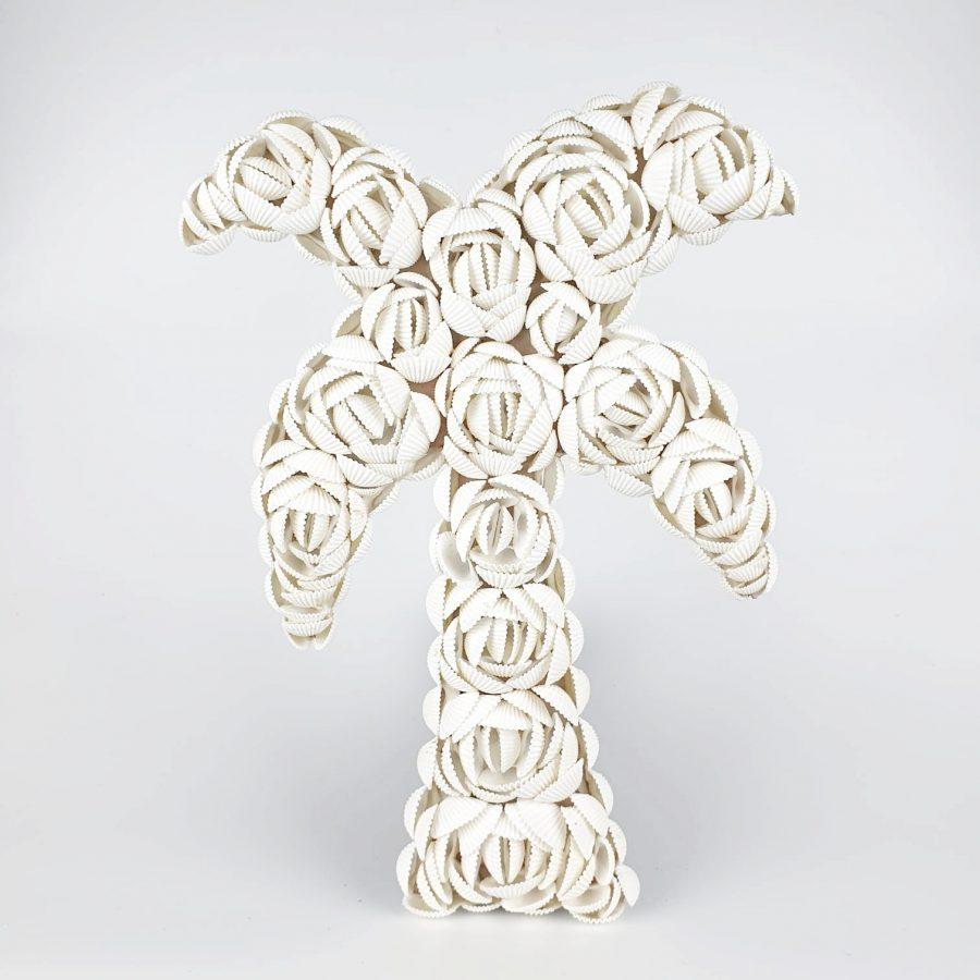 Palmboom schelpen decoratie 2