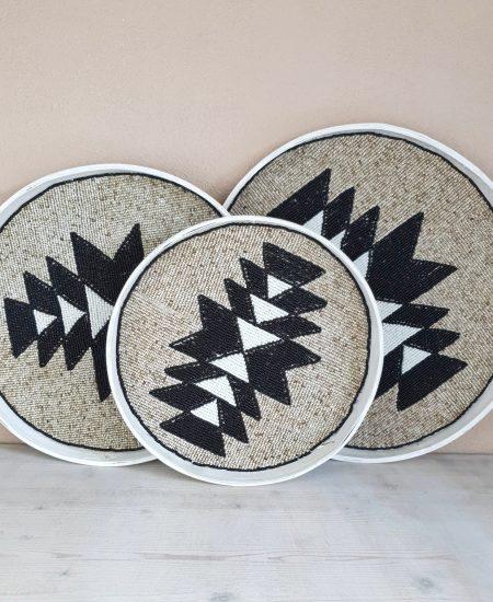 Aztec dienbladen kraaltjes bali 2