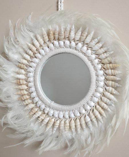 Boho veren spiegel bali style 1