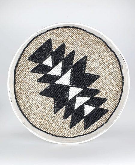 Dienblad wandhanger muurcirkel bali aztec 3