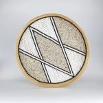 Dienblad wandhanger muurcirkel bali diamond 1