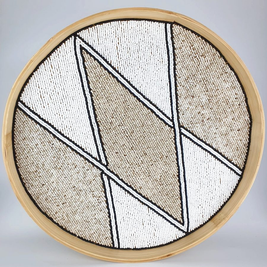 Dienblad wandhanger muurcirkel bali diamond 3