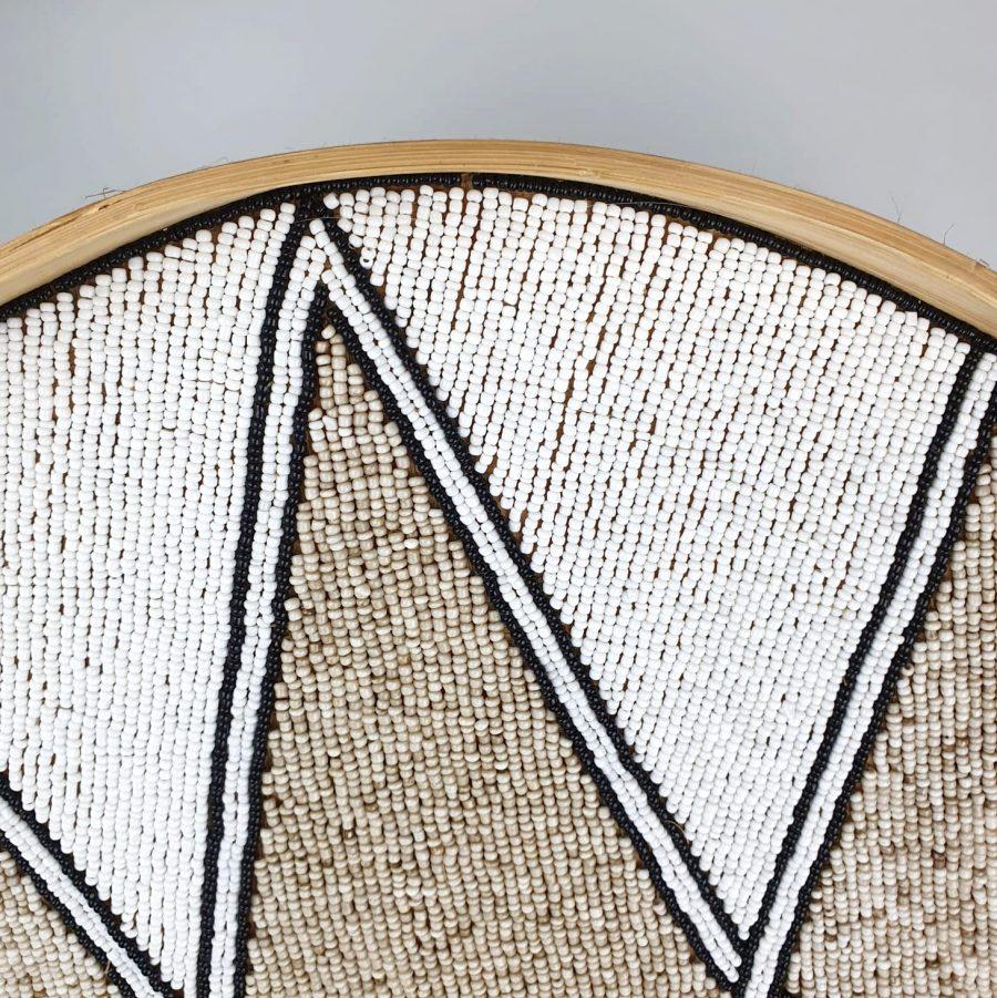Dienblad wandhanger muurcirkel bali diamond 4