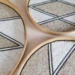 Dienblad wandhanger muurcirkel bali diamond 6