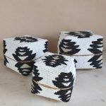 Offermanden bali zwart wit prayer box 1